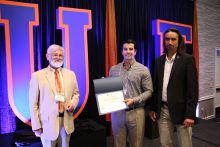 Nick Paciaroni, student, wins the oral presentation at the 2017 Drug Discovery Symposium