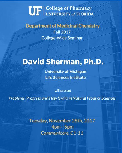 Seminar Announcement, David Sherman